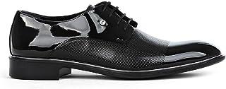 Tamboğa Erkek Klasik Rugan Damatlık Ayakkabı
