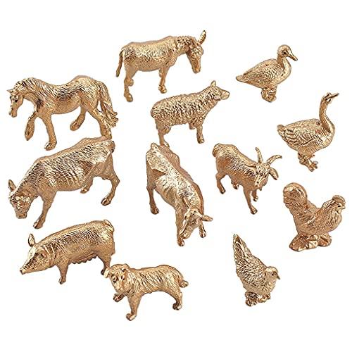 lahomia Figuras de Animales de Resina Realistas, Modelo de Juego, Figuras, Aulas, Recompensas