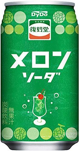 ダイドー 復刻堂 メロンソーダ 350ml缶×24本入
