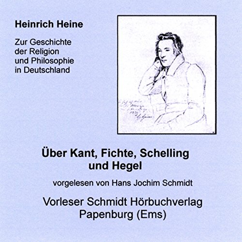 Über Kant, Fichte, Schelling und Hegel Titelbild