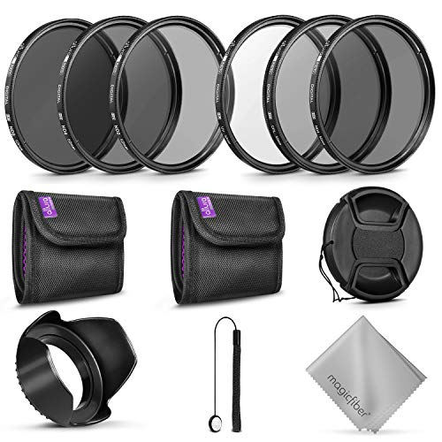 goja lens filters 52MM Altura Photo UV CPL ND4 Lens Filters Kit and Altura Photo ND Neutral Density Filter Set. Photography Accessories Bundle for Nikon and Canon Lenses with a 52MM Filter Size