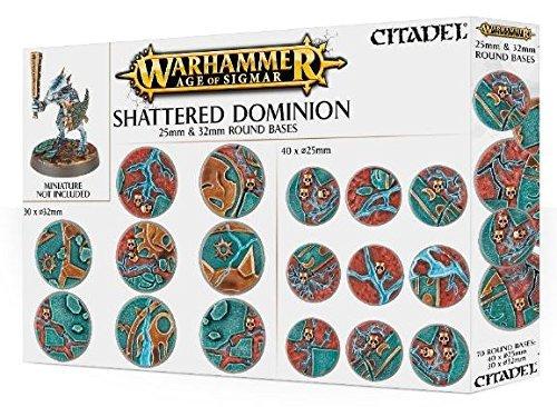 Games Workshop 99120299033 Aos Shattered Dominion - Mesa y juego en miniatura, 25-32 mm
