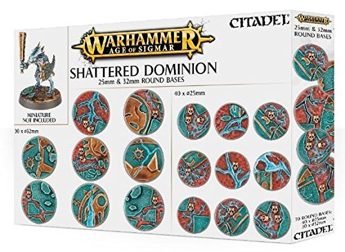 Games Workshop 99120299033 Aos Shattered Dominion - Mesa y juego en miniatura, 25-32 mm