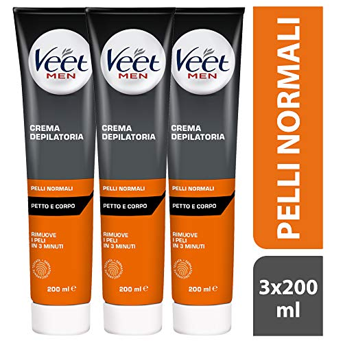 Veet for Men Hair Removal Gel Crema, 200 ml