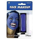 amscan 395805.22 Cream Non Toxic Face Makeup, Blue