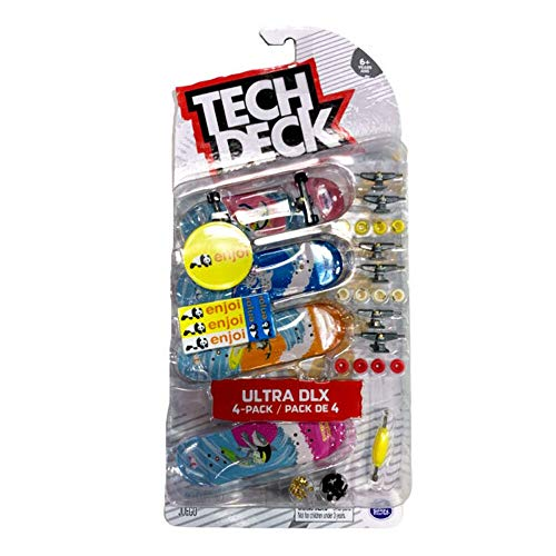 TECH DECK Enjoi Skateboards 2020 Ultra DLX 4-Pack Surfs Up Fingerboards
