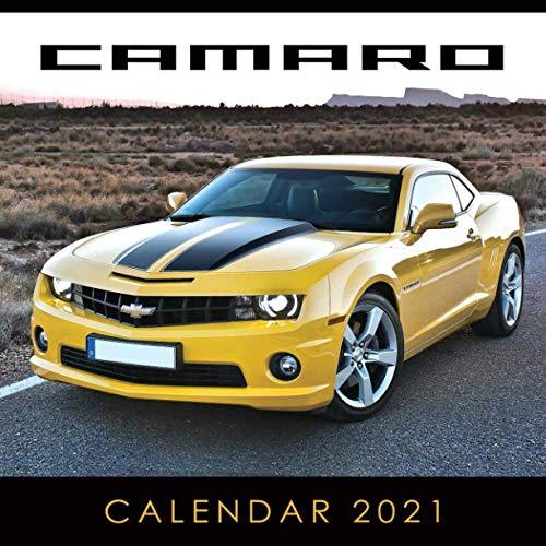 Camaro Calendar 2021: January 2021 through February 2022, Automobile Calendar, American Muscle Cars Calendar