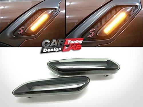 CarLab (2) LED Indicateur de fumée Clignotants côté marqueurs Tour Signal lumière pour R60 Countryman R61 Paceman