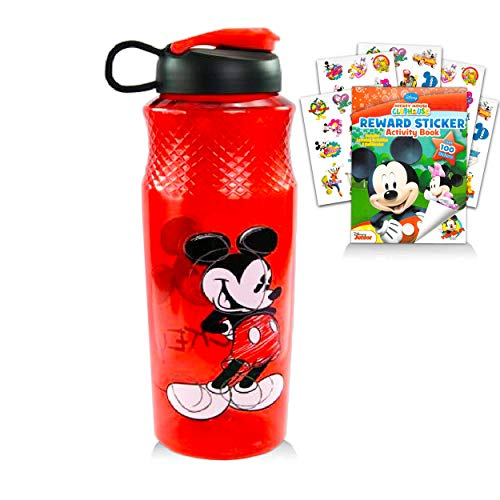 Disney Mickey Mouse Water Bottle Bundle ~ Mickey Mouse 30oz Refillable...