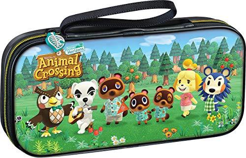 BigBen Interactive, Custodia di Trasporto Deluxe Licenza Ufficiale Nintendo Multicompatibile Switch & Switch Lite, Animal Crossing