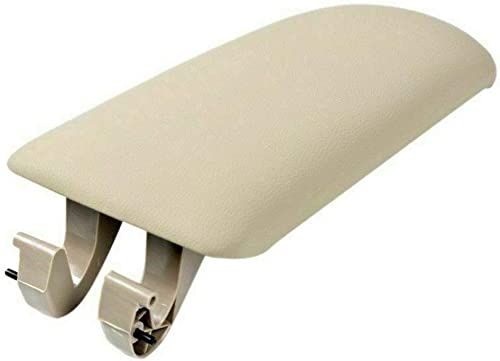 2021 Gangmu Tec Leather Armrest Lid, Cover on Center Box Console, online Quality Replacement for 2002-2008 outlet sale Audi A4, S4 and RS4 (B6 or B7) Part Number 8E0864245E38M (3cm Beige) outlet online sale