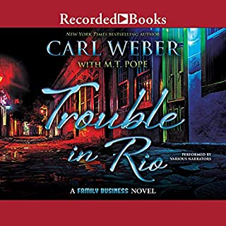 Trouble in Rio                   Written by:                                                                                                                                 Carl Weber,                                                                                        M. T. Pope                               Narrated by:                                                                                                                                 Ace Bentley,                                                                                        Dylan Ford,                                                                                        Morae Brehon                      Length: 6 hrs and 51 mins     1 rating     Overall 5.0