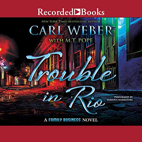 Trouble in Rio audiobook cover art