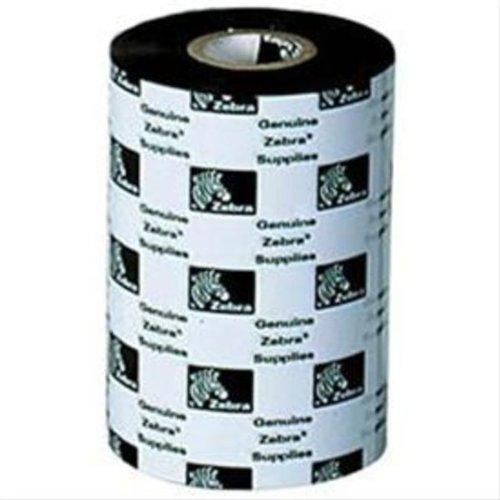 Zebra Media 2300 Wax Ribbon Farbband für Matrixdrucker, 12 Stück, Thermotransfer, Zebra Printer, Schwarz, 74 m, 110 mm, 12 Stück