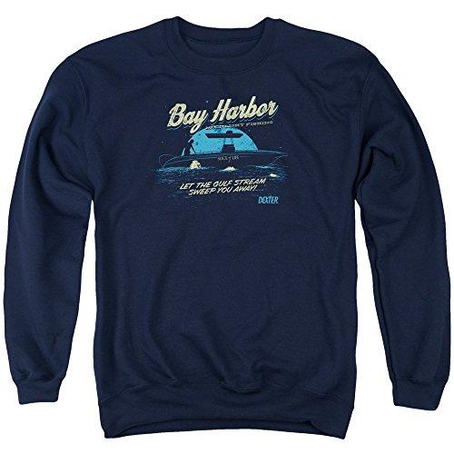 Dexter Herren Pullover Moonlight Fishing Gr. XXL, Navy