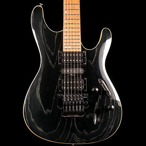 Ibanez S Series S570AH Standard Electric Guitar, Jatoba Fretboard, Silver Wave Black