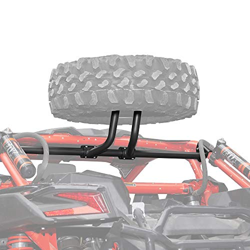 Kemimoto X3 Spare Tire Carrier Holder Compatible with Can am Maverick X3 X3 Max Turbo RR 2017 2018 2019 2020 2021 Spare Tire Mount Holds Up To a 32' Tire