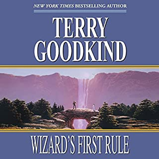 Wizard's First Rule     Sword of Truth, Book 1              By:                                                                                                                                 Terry Goodkind                               Narrated by:                                                                                                                                 Sam Tsoutsouvas                      Length: 34 hrs and 6 mins     13,706 ratings     Overall 4.4