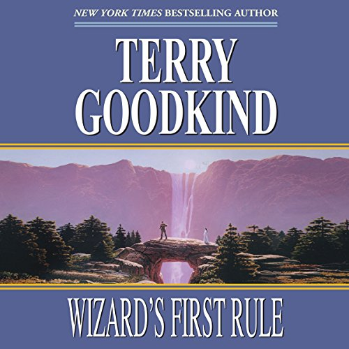 Wizard's First Rule     Sword of Truth, Book 1              By:                                                                                                                                 Terry Goodkind                               Narrated by:                                                                                                                                 Sam Tsoutsouvas                      Length: 34 hrs and 6 mins     13,722 ratings     Overall 4.4