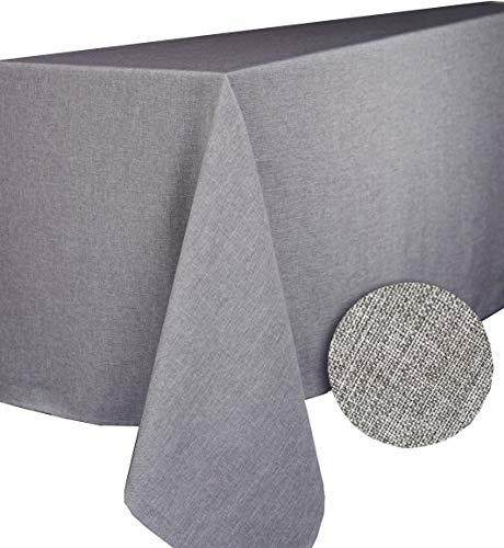 CALITEX Brom Tischdecke rechteckig Polyester Grau 150x 300
