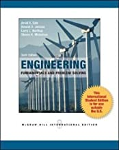 Engineering Fundamentals and Problem Solving 6th International edition by Eide, Arvid R., Jenison, Roland D., Northup, Larry L. (2011) Paperback