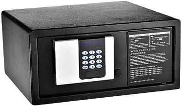 JBAMQ Biometric Fingerprint Security Safe Box Gun Safes for Pistols, Lock Box Cabinets, Solid Steel Safe Strongbox for Mon...