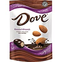 Dove Dark Chocolate Covered Almond Candy Pouch (5.5 Oz)