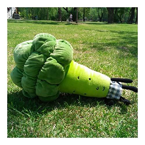 Yuhualiyi123 Gemüse-Kissen-kreative lustige Plüsch-Spielzeug Persönlichkeit Festival Soft Toy Geschenk Nette Karikatur-Plüsch-Spielzeug-Dekoration Cozy Kissen für Kinder/Familie/Freunde
