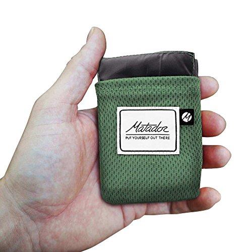 マタドールMatadorポケットブランケット2.0グリーン/グレー20370015088000