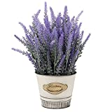 Artificial Flowers Lavender Decor...
