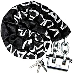COMPLETE SECURITY KIT - Each kit includes a premium, solid forged one-piece pad lock, three keys, 3/8 inch x 6 foot high security chain and a cordura wear pad. Professional operators choose Vulcan chain and lock kits to secure millions of pieces of v...