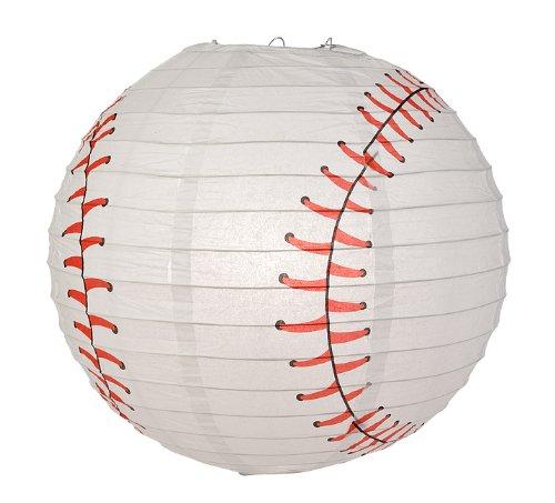 Quasimoon PaperLanternStore.com Baseball Paper Lantern