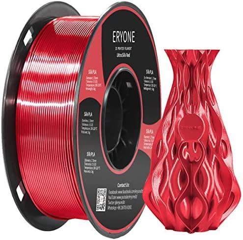 Eryone Ultra Silk PLA 3D Printer Filament 1 75mm Dimensional Accuracy 0 05 mm 1kg 2 2LBS Spool product image