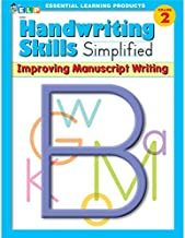 Handwriting Skills Simplified:  Improving Manuscript Writing, Grade 2