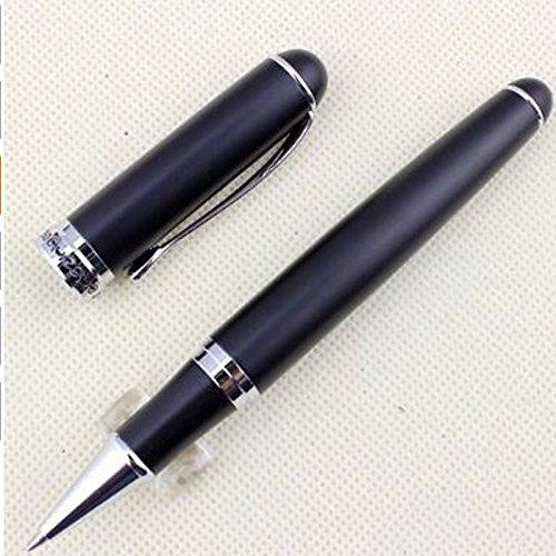 Caneta esferográfica executiva DragonPad X750 preta fosca ponta suave elegante escrita esferográfica, Preto