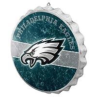 FOCO Philadelphia Eagles NFL Metal Distressed Bottlecap Sign
