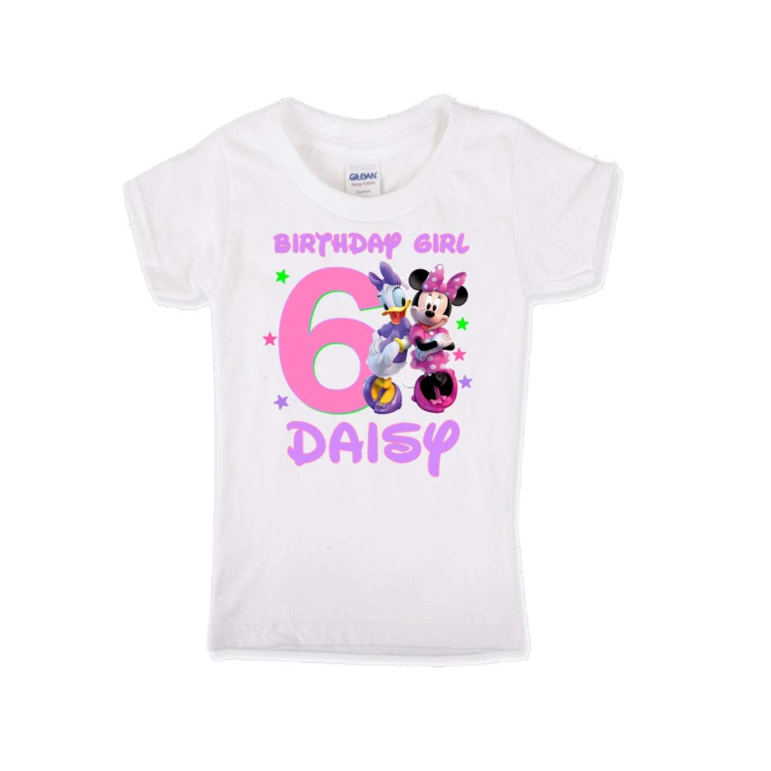 It is very popular Daisy Duck and Minnie Girls Shirt specialty shop Mouse Birthday