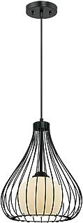 Westinghouse oświetlenie 1 wisiorek świetlny, stal, E27, czarny matowy