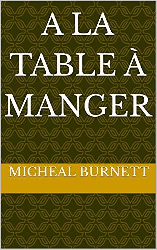 A la table à manger