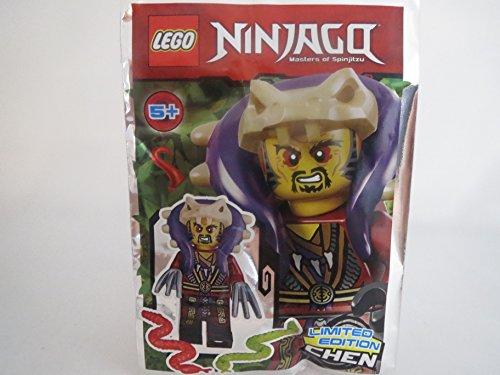 LEGO Ninjago Figur Meister Chen mit fiesen Klauen und 2X Schlangen - Limited Edition - 891732 - Polybag -