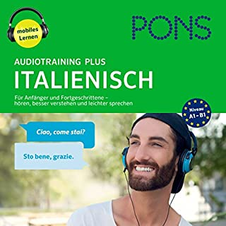 PONS Audiotraining Plus Italienisch Titelbild