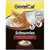 GimCat - Pollaio e taurina per gatti con ingredienti funzionali per favorire la funzione cardiaca e la vista, 1 confezione (1 x 420 g)