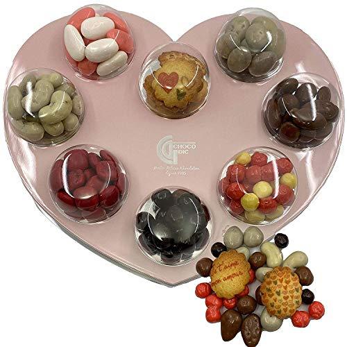 CHOCOLAT SAINT VALENTIN PALETTE DE PEINTRE - CHOCOLAT SAINT VALENTIN - CADEAU CHOCOLAT - COFFRET CHOCOLAT SAINT VALENTIN - BALLOTIN CHOCOLAT SAINT VALENTIN