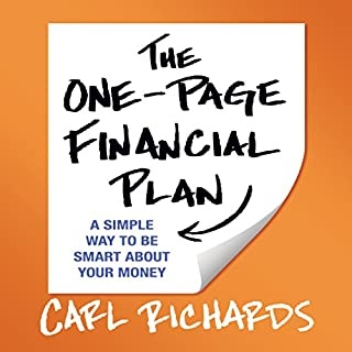 The One-Page Financial Plan audiobook cover art