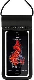 DFV mobile - Waterproof Submersible Cover Beach Pool Kayak Diving Swimming Fishing との互換性 VKworld T1 Plus - Black