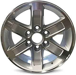 Road Ready Car Wheel For 2010-2014 GMC Savana 1500 2007-2013 Sierra 1500 2007-2014 Yukon 1500 17 Inch 6 Lug Silver Machine Face Alloy Rim Fits R17 Tire - Exact OEM Replacement - Full-Size Spare