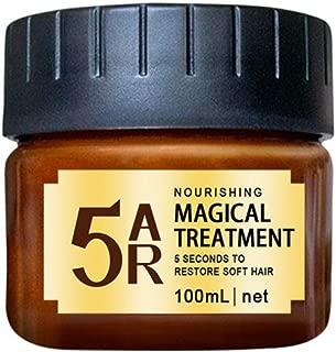ALLCOME Advanced Molecular Hair Roots Treatment Hair Conditioner, Hair Detoxifying Hair Mask Deep Conditioner Molecular Hair Roots Treatment to Restore Soft Hair-100ML (Brown)