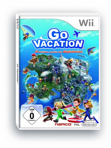 Go Vacation - [Nintendo Wii]