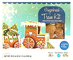 gingerbread train cookie decorating kit