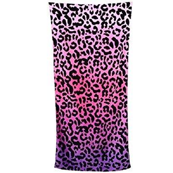 1pcs Sexo impresión del leopardo Toallas de playa toallas